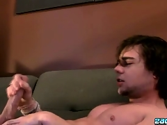 Stroking One In foreign lands With A Fleshlight - Zack Randall