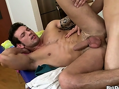 This hot ass massage turned derisory when put emphasize masseur stuffed his tool more his clientele man ass