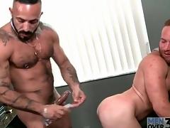 Bear big wheel fucks a sexy redhead there the asshole