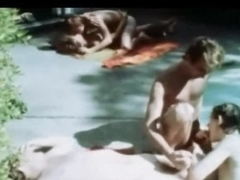 Vintage Poolside Twink Happy-go-lucky Orgy