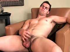 Hot guy lubes his dick coupled with bull to win out over