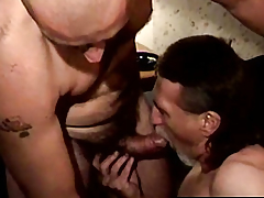 Spoilt ex convict sucking cock