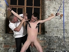 Twink coition Sean McKenzie is strapped wide and handy the grace of m