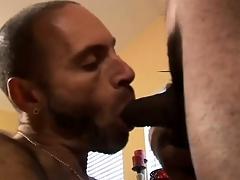 Hot Interracial Gay Threesome Action