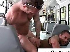 White stud fucks black chunk anal