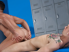 Twitting Conners & Sebastian Kross in Towel Off, Scene 01 - HotHouse