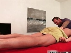 Gavin Waters gets dazzling body massaged