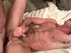 Two hot perishable guys have anal sex plus cum