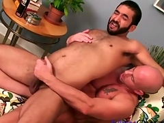 Soft bear ass fucked by a smooth suppliant