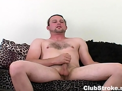 Oversexed Forthright Guy Sean Masturbating