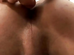 A Sexy Stud Breaks Out His Toy
