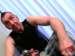 Mature Honest Guy Marc Masturbating