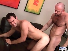 Smoking hot bear top fucks go off at a tangent tight asshole