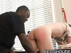 Fetish dude spanking some asses