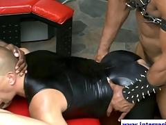 Ebony muscled jock amateurs orgy banging