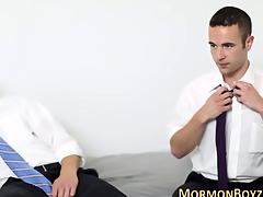 Mormon inexpert in dire straits plowed