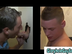 Amateur straighty cums in gay mouth