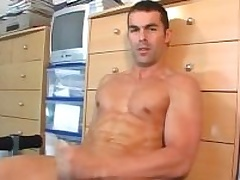 Nicolas a real straight guy serviced his grand cock by a guy in spite of him