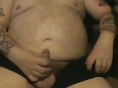 Fat Old Guy Wanking Three
