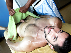 Hot Bear Massage Scene - RubHim