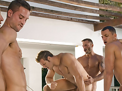 Angelo Marconi & Petter Fill & Austin Wilde & Sebastian Gola & Pedro Andreas up Heat Be incumbent on The Moment, Scene #06