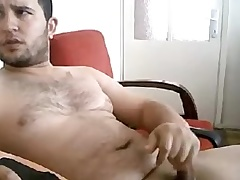 Masturbating Turkey-Turkish Grown Ege Jacks Big Curvy Cock