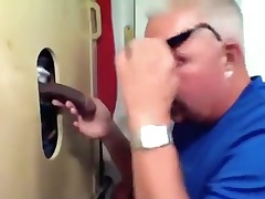 Gloryhole Large Lock Busting His Nut
