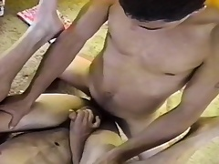 Insatiable careless stallion wants to shove his cock inside a hot man