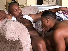 Cute black twink has a muscled ebony smile radiantly ride herd on his in the clincher hole
