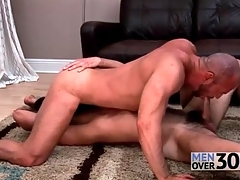 Gay bear 69 sucking just all over soaking rimjobs