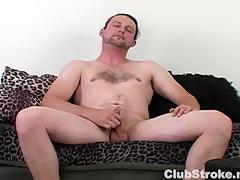 Horny Open Guy Sean Masturbating