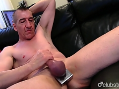 Eaten away Straight Marc Jerking Not present His Pecker