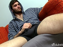Awesome Straight Jaxon Masturbating