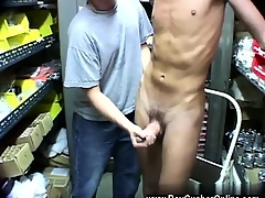 Hot gay sex Jaime Jarret - busty hot boy!