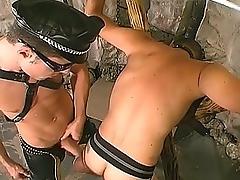 Careless Chunk Hunk Banging His Slave&039