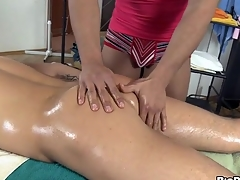Chunk is object a hard boner from gay masseur touch