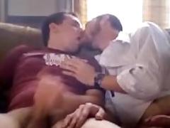 Yoke dilettante dudes rubbing each other's cocks