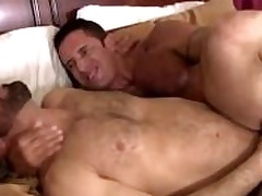 Nick teases Adams hole with his thick horseshit before banging clean out