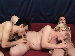 Hot gay threesome in these studs giving head with the addition of screwing ass