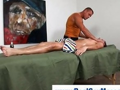 Honest guy gets fingered by muscley happy-go-lucky