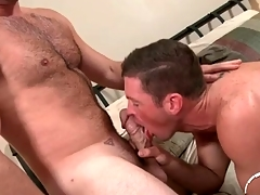 Queasy bosom defy here a thick cock gets a BJ