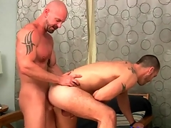 Fucked at the end of one's tether a bare guy and warm every inch