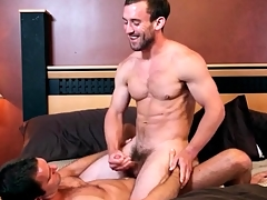 Great kissing in lusty joyous anal video
