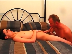 Doyenne gay guy sucks at bottom sexy twink cock