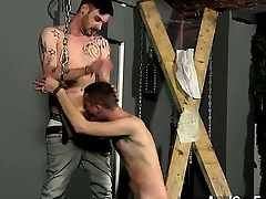 Male models Slave Boy Fed Hard Inches
