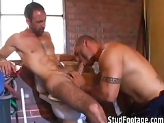 2 hot guys having sex in someone's skin excrete