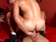 Gay double anal penetrators society