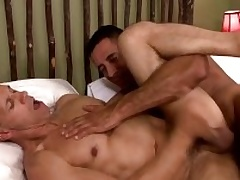 Two musle guys Lift Capra anad Rodney Steele regarding hot action
