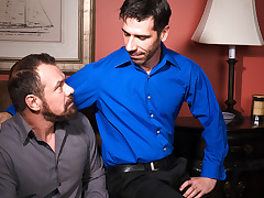 Tony Salerno & Max Sargent thither Hot Daddies, Scene 04 - IconMale