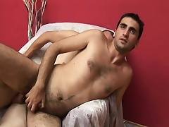 Two gays go at it approximately hot cock sucking and naff ass bonking